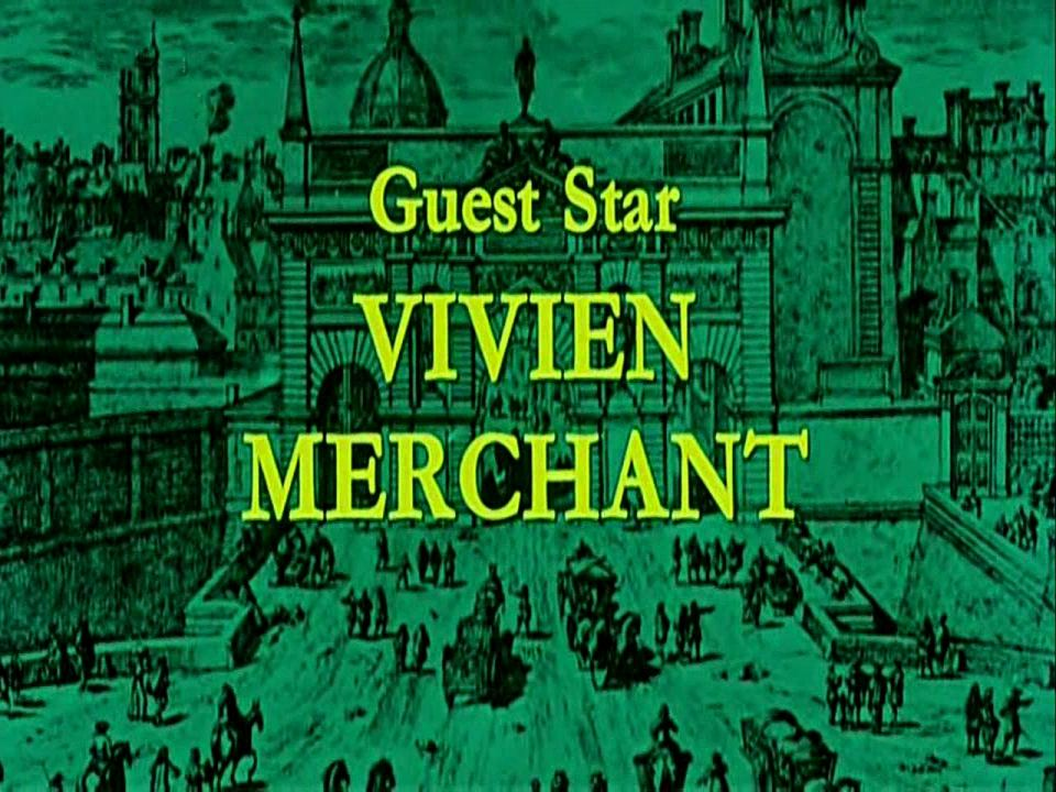 Main title from The Man in the Iron Mask (1977) (10).  Guest star Vivien Merchant