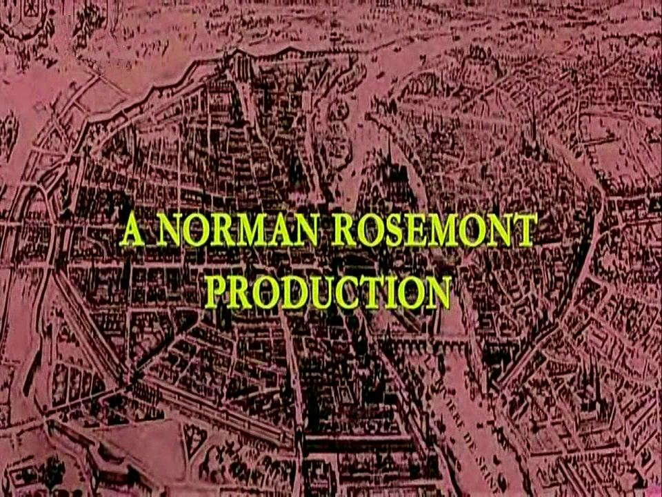 Main title from The Man in the Iron Mask (1977) (2).  A Norman Rosemont production