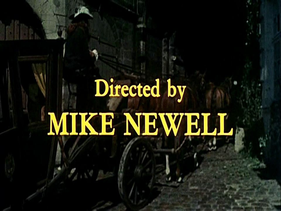 Main title from The Man in the Iron Mask (1977) (20).  Directed by Mike Newell