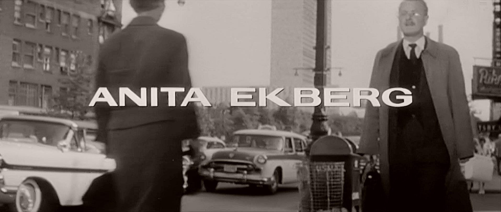 Main title from The Man Inside (1958) (3). Anita Ekberg