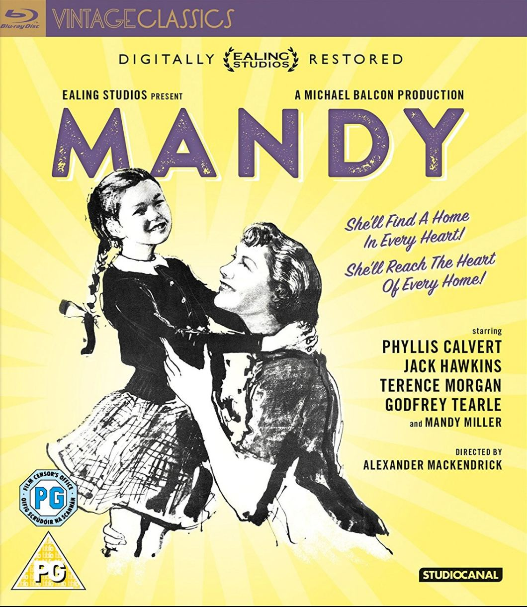 Mandy Blu-ray from Studiocanal, 2017