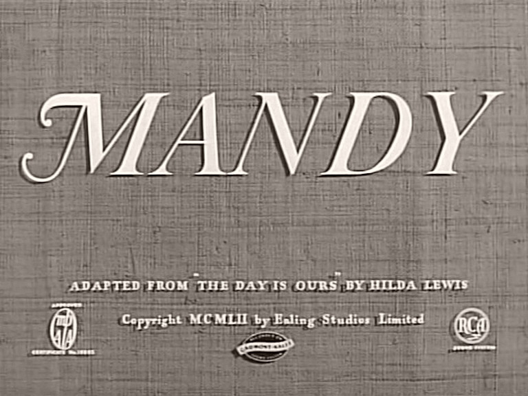 Main title from Mandy (1952)