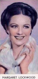 Belgian cigarette card (De Beukelaer Film Stars) with Margaret Lockwood