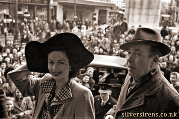 Margaret Lockwood visits Luton on February 16, 1948 to see the town at work and is greeted at the Town Hall by the mayor, Cllr W.J. Edwards, before she visits Skefko, Vauxhall and Electrolux and two cinemas – the Odeon in Dunstable Road and the Palace in Mill Street, whose manager, Mr S. Davey, had arranged the tour.  Alongside her is photographer George Gurney, who joined the Luton News in 1930 and retired in 1969. George and his trilby hat were well known around town as he covered thousands of events.