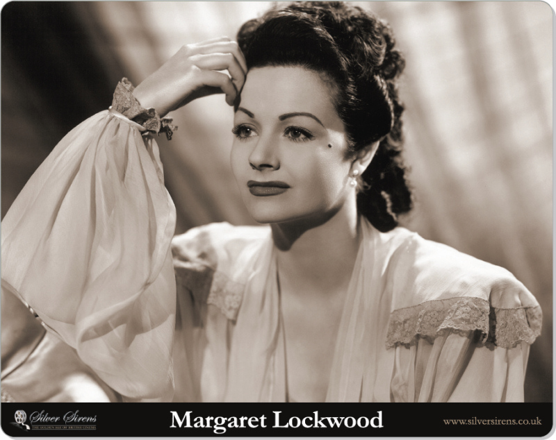 Brand new Margaret Lockwood mouse mat, featuring high quality photo reproduction on hard plastic with a non-skid backing