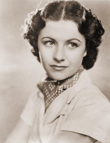 photograph of British actress Margaret Lockwood in Bank Holiday (1939)