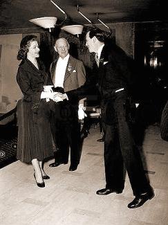 Margaret Lockwood meets the Duke of Devonshire