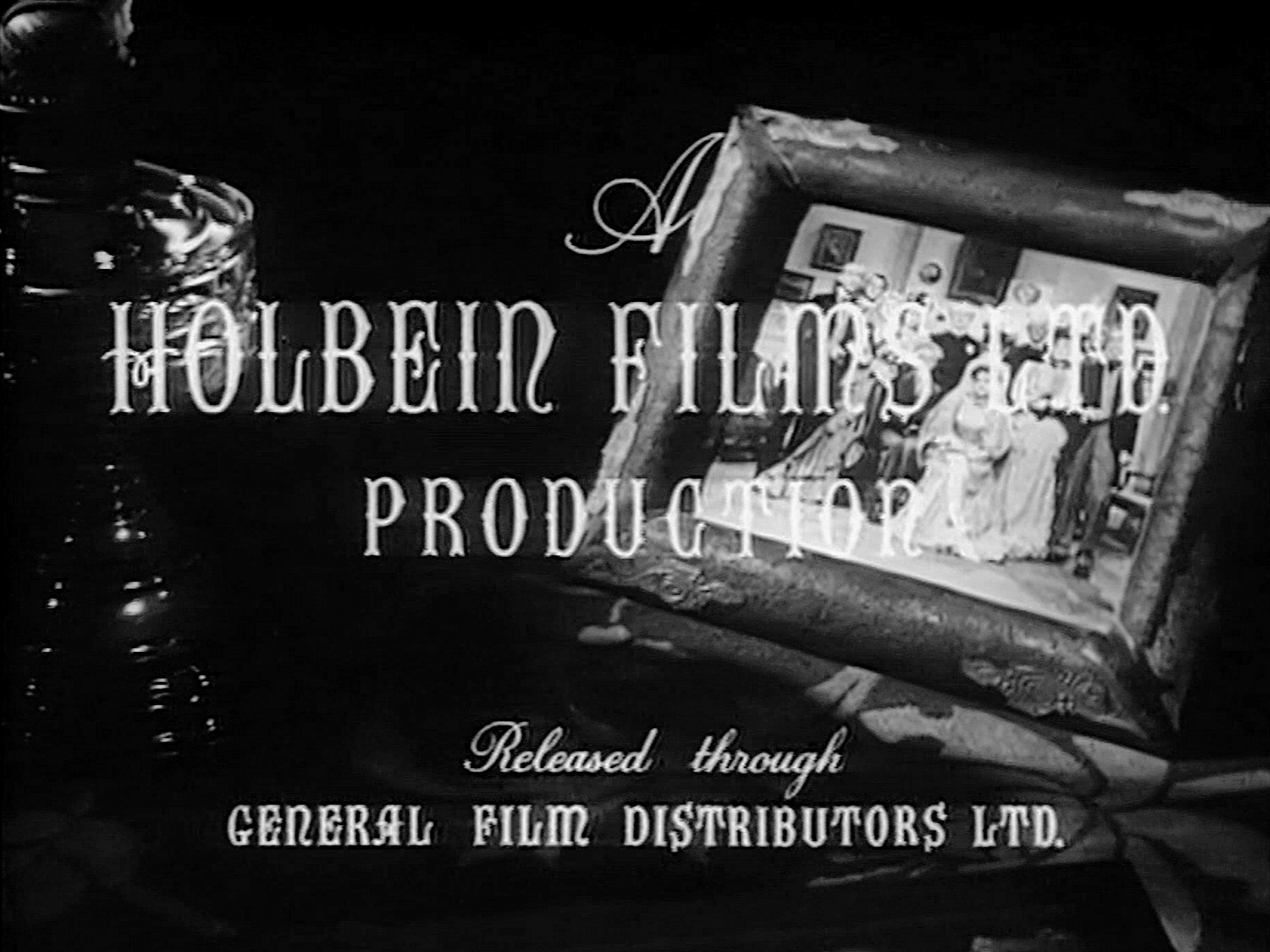 Main title from The Master of Bankdam (1947) (3). A Holbein Films production released through General Film Distributors Ltd