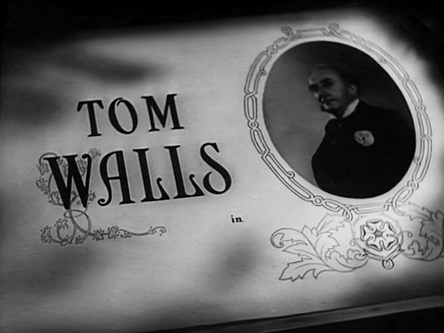 Main title from The Master of Bankdam (1947) (6). Tom Walls