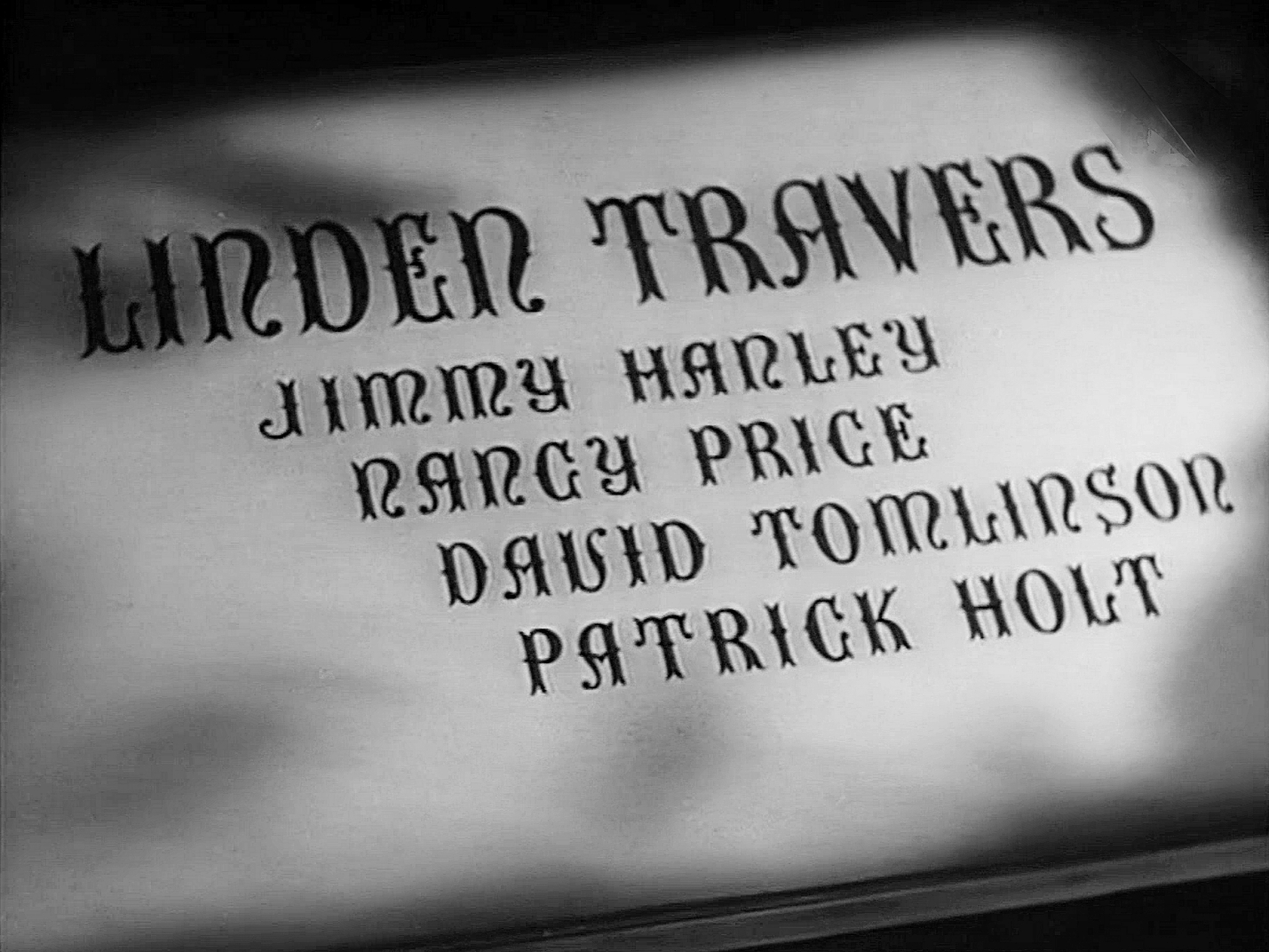 Main title from The Master of Bankdam (1947) (9). Linden Travers, Jimmy Hanley, Nancy Price, David Tomlinson, Patrick Holt