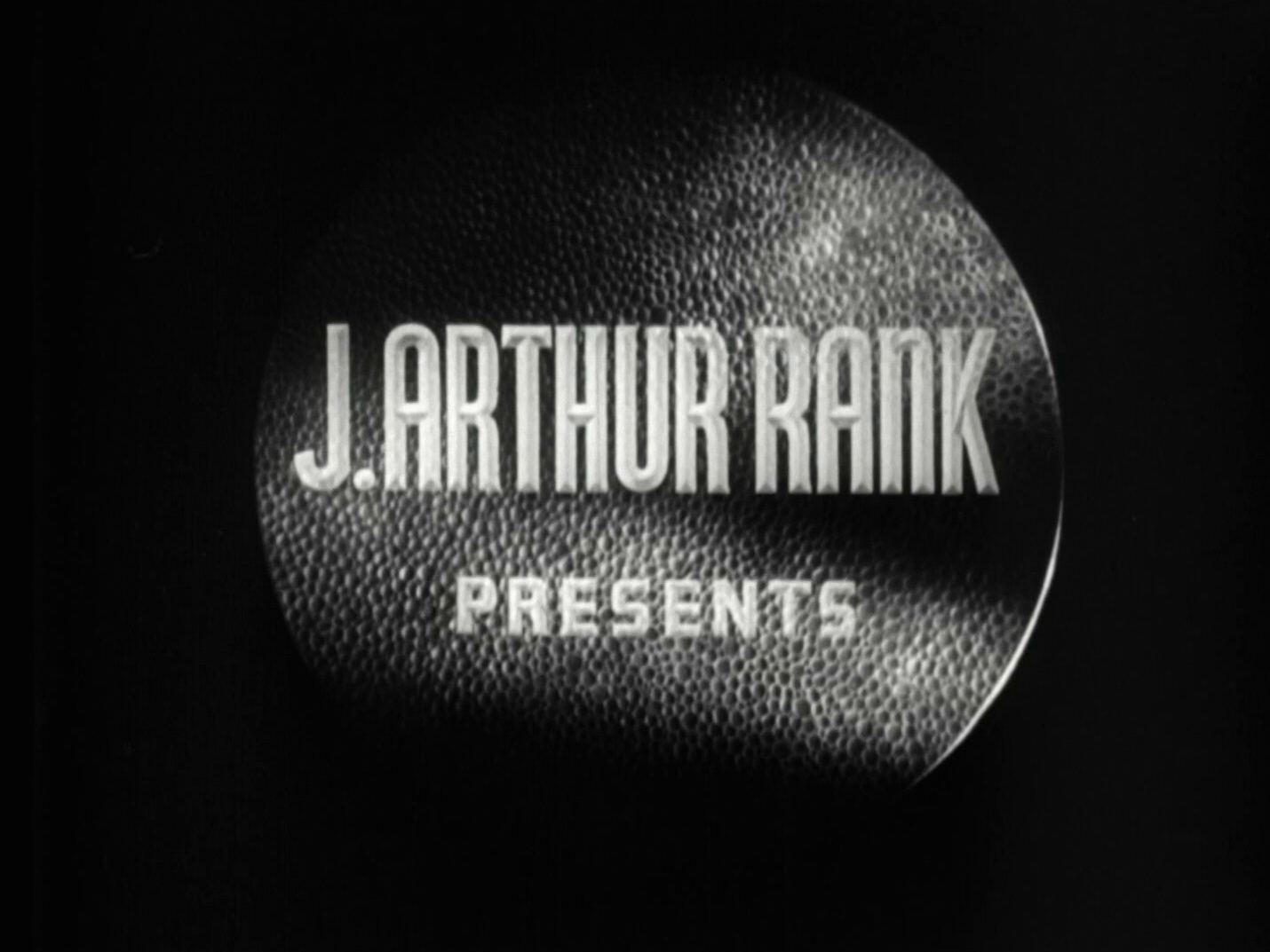 Main title from A Matter of Life and Death (1946) (1).  J Arthur Rank presents