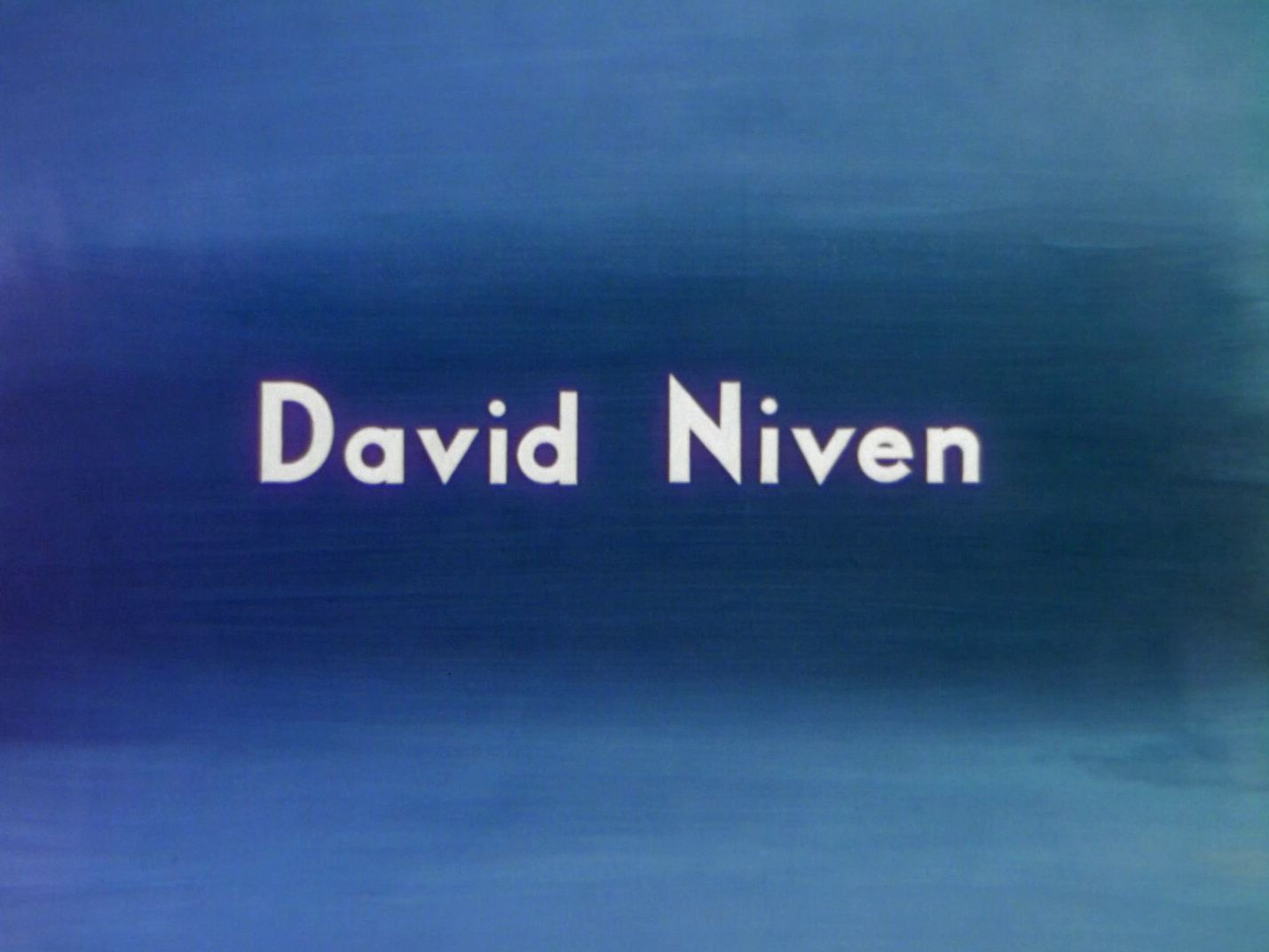 Main title from A Matter of Life and Death (1946) (3).  David Niven