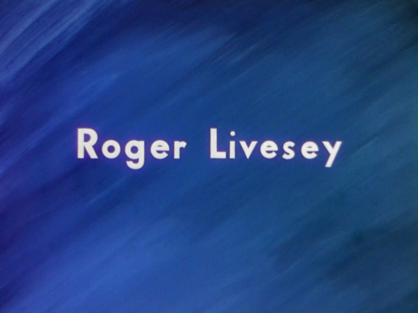 Main title from A Matter of Life and Death (1946) (4).  Roger Livesey