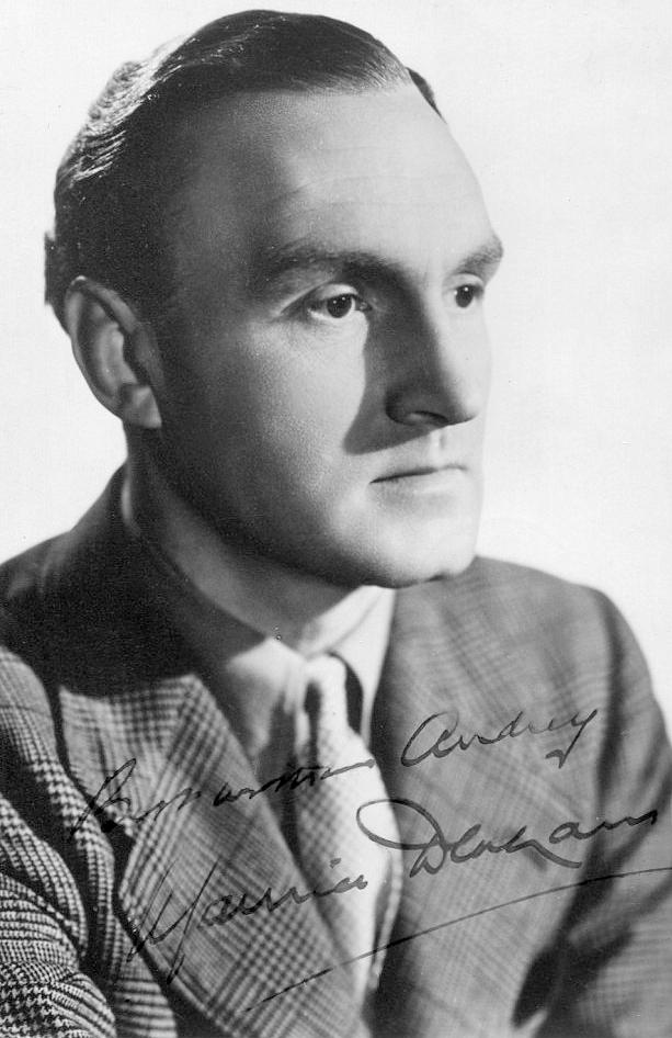 Photograph of English actor, Maurice Denham (1)