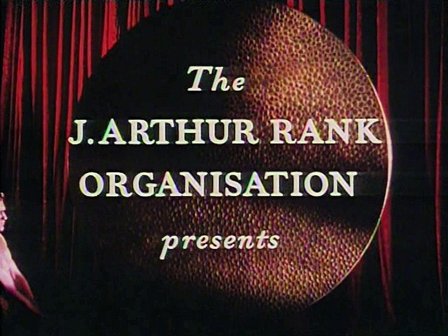 Main title from Meet Me Tonight (1952) (1).  The J Arthur Rank Organisation presents
