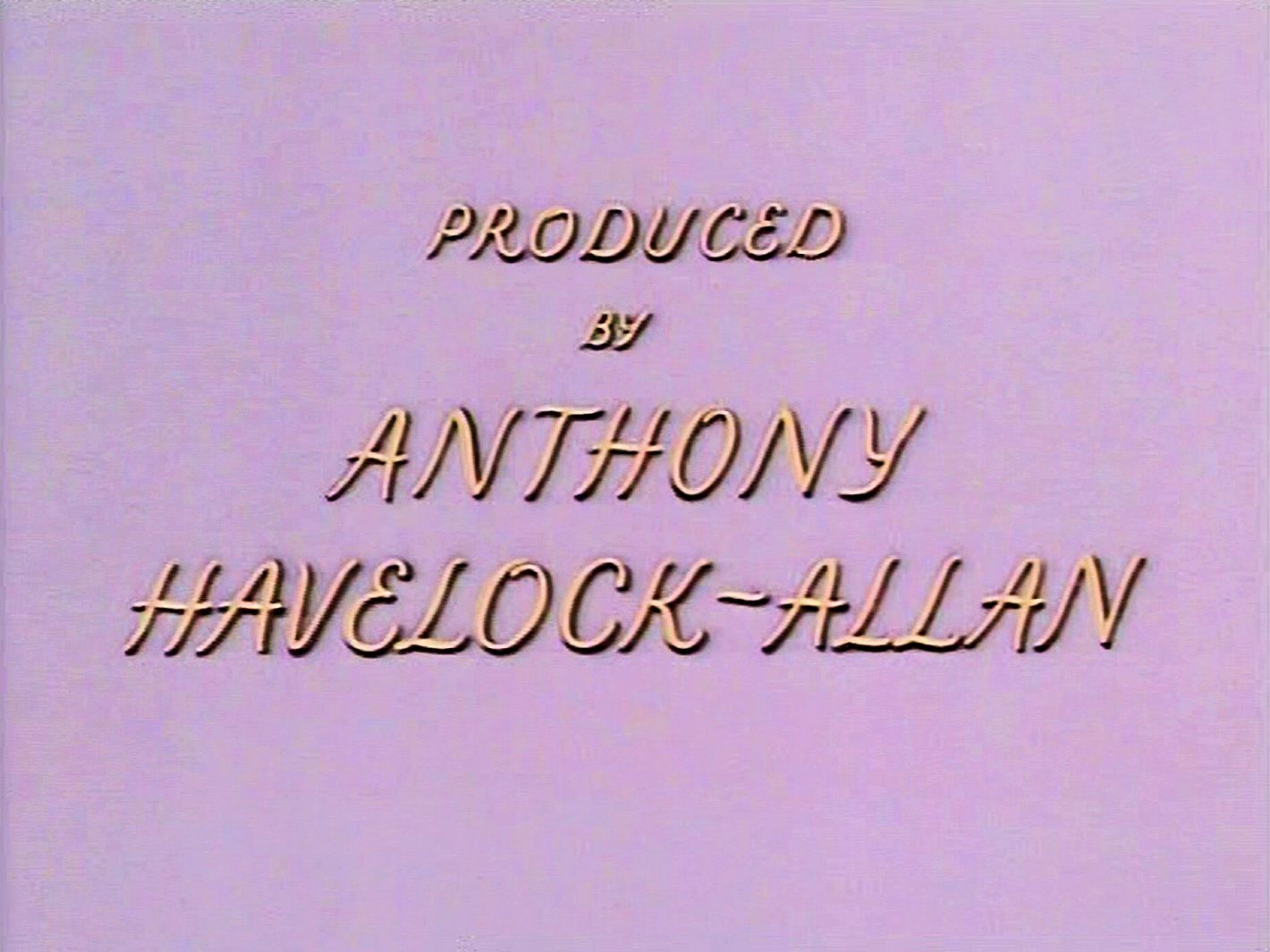 Main title from Meet Me Tonight (1952) (12).  Produced by Anthony Havelock-Allan