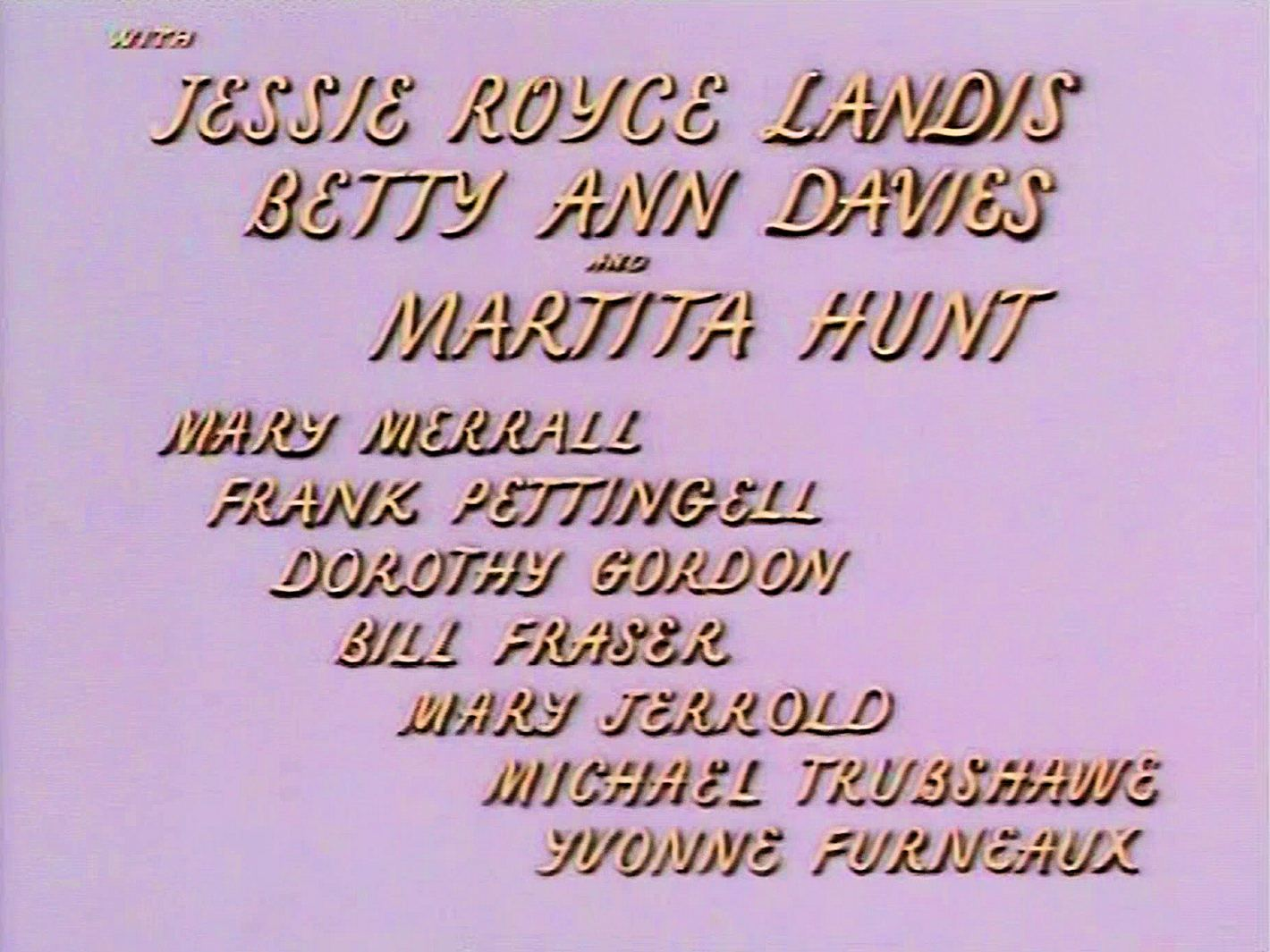 Main title from Meet Me Tonight (1952) (8)