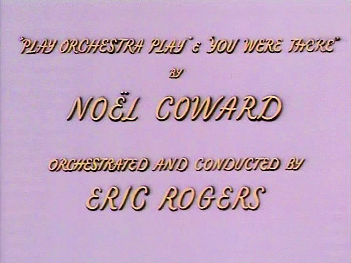 Main title from Meet Me Tonight (1952) (9)