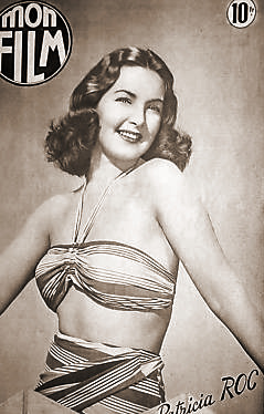 Mon Film magazine with Patricia Roc.  22nd September, 1948, issue number 110.  (French)