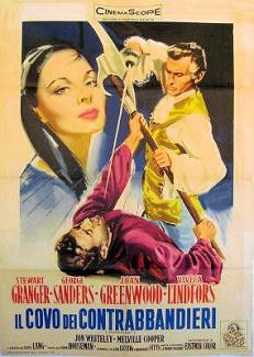 Italian poster for Moonfleet (1955) (1)