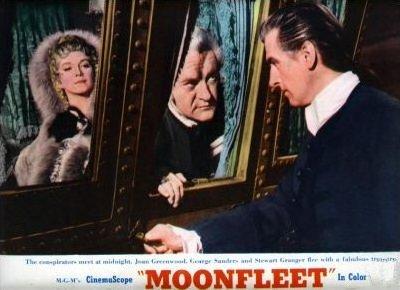 Lobby card from Moonfleet (1955) (7)