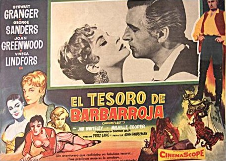 Mexican lobby card from Moonfleet (1955) (5)