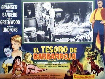 Mexican lobby card from Moonfleet (1955) (6)