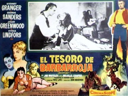 Mexican lobby card from Moonfleet (1955) (7)