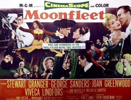 Poster for Moonfleet (1955) (2)