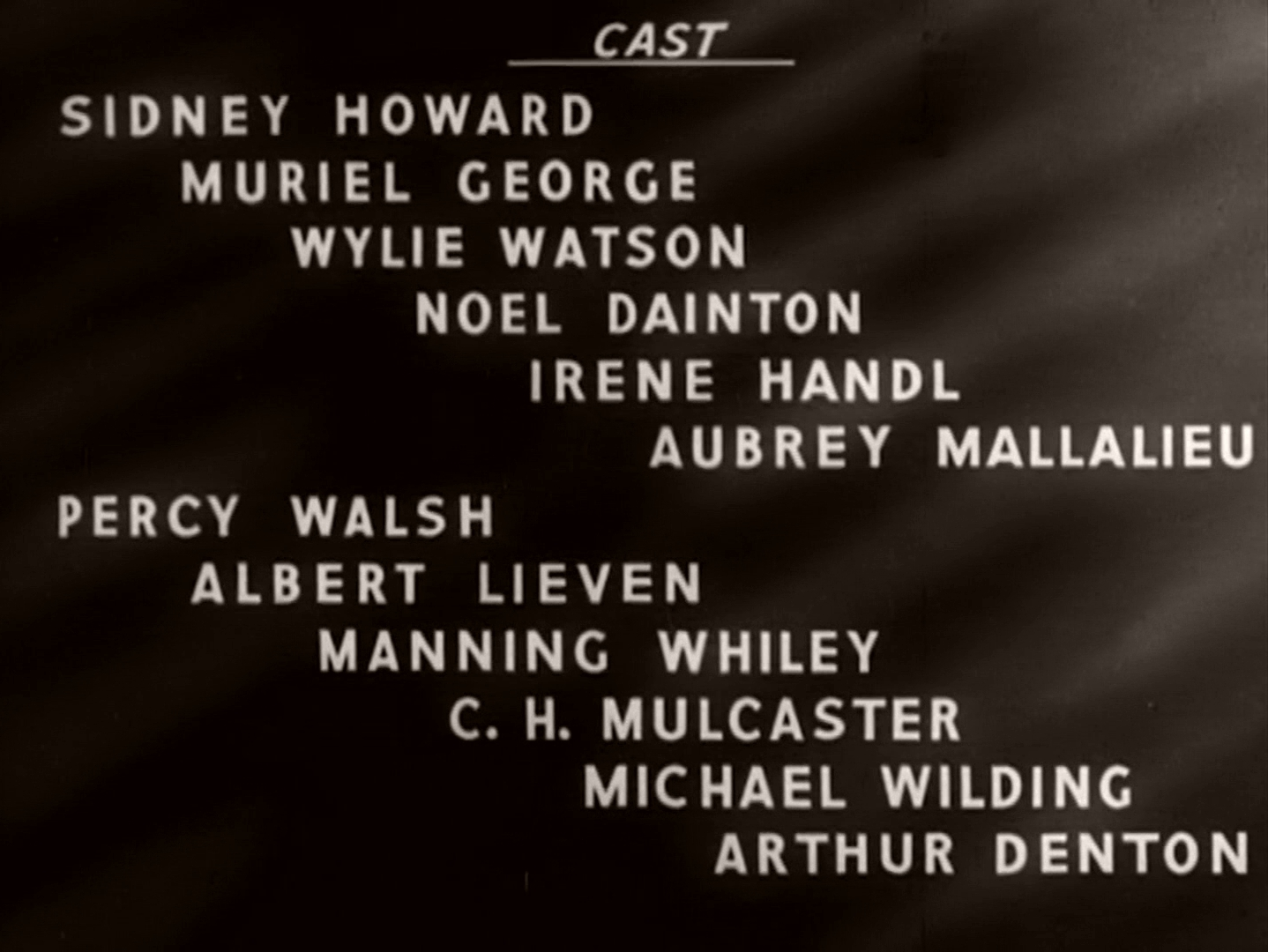 Main title from Mr Proudfoot Shows a Light (1941) (4)