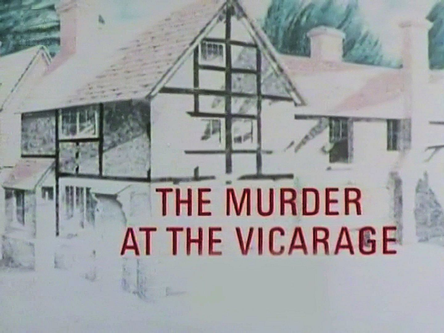 Main title from the 1986 'The Murder at the Vicarage' episode of Agatha Christie's Miss Marple (1984-1992) (1)