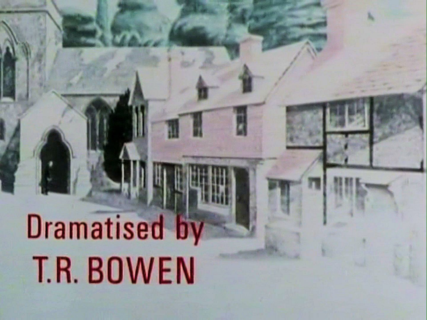 Main title from the 1986 'The Murder at the Vicarage' episode of Agatha Christie's Miss Marple (1984-1992) (2). Dramatised by T R Bowen
