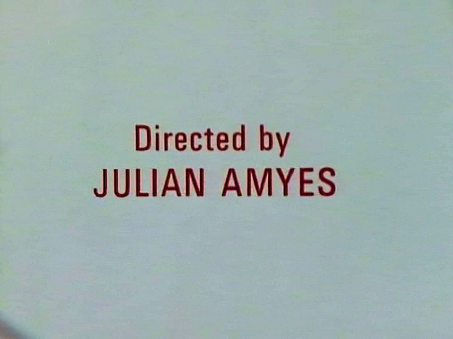 Main title from the 1986 'The Murder at the Vicarage' episode of Agatha Christie's Miss Marple (1984-1992) (3). Directed by Julian Amyes
