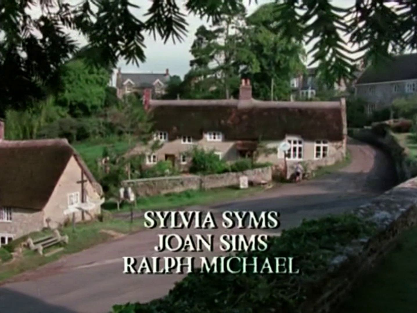 Main title from the 1985 'A Murder Is Announced' episode of Agatha Christie's Miss Marple (1984-1992) (7). Sylvia Syms, Joan Sims, Ralph Michael