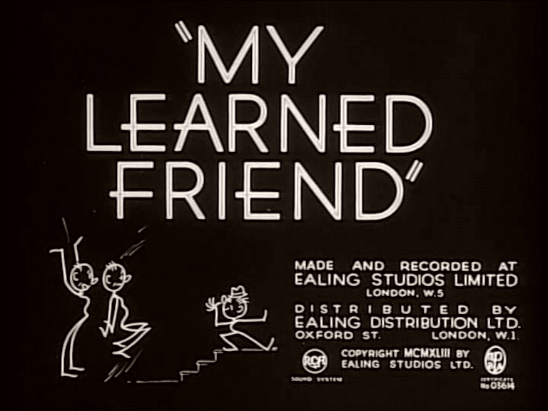 Main title from My Learned Friend (1943)