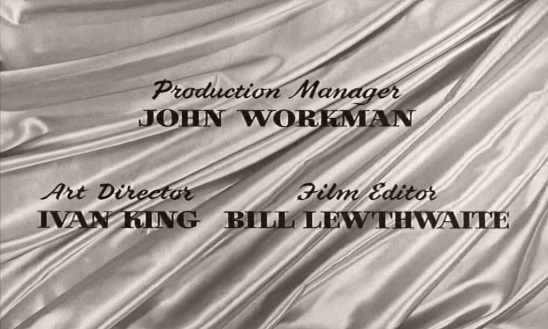 Main title from The Naked Truth (1957) (10).  Production Manager John Workman Art Director Ivan King, Film Editor Bill Lewthwaite