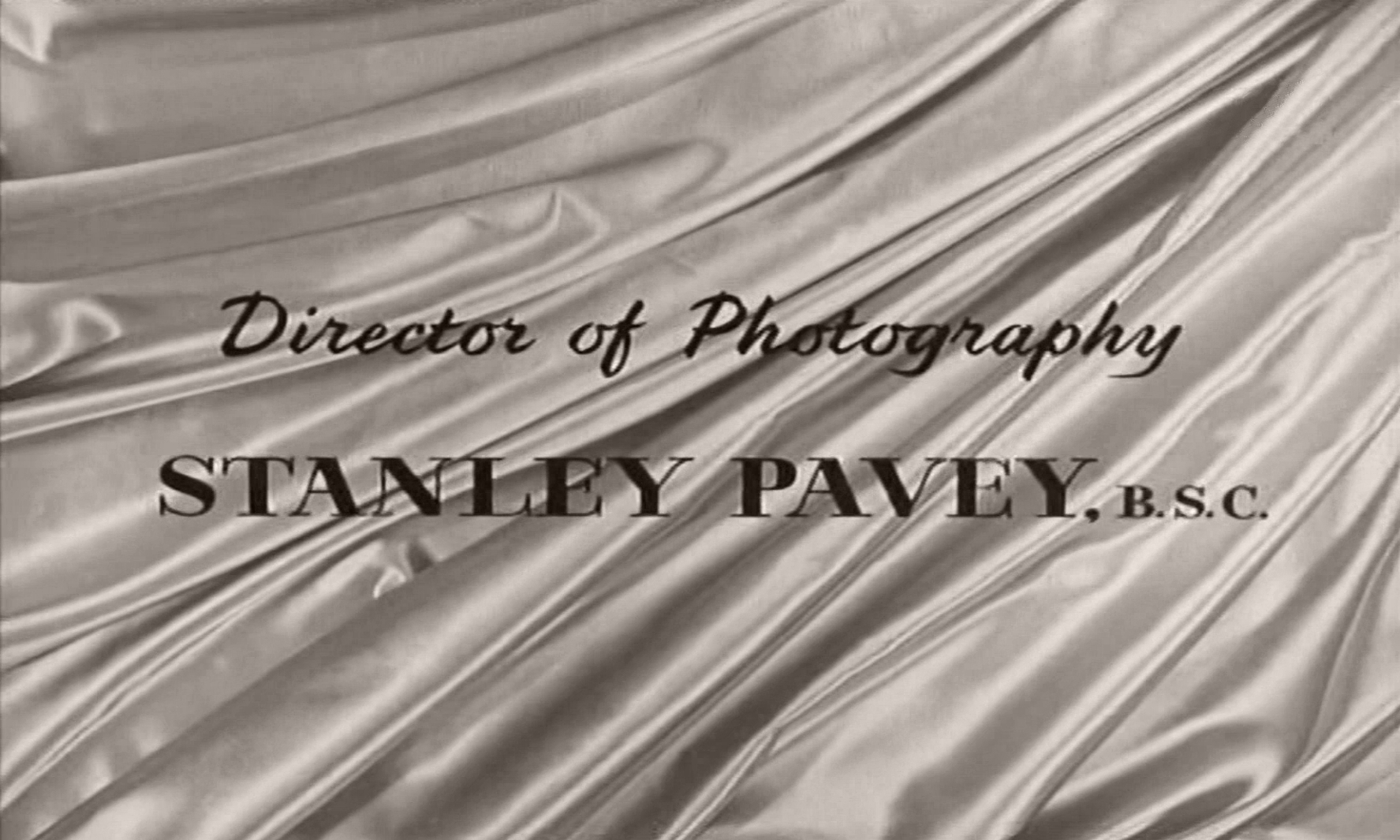 Main title from The Naked Truth (1957) (9).  Director of Photography Stanley Pavey BSC