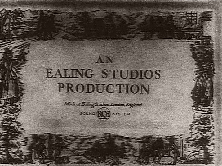 Main title from Nicholas Nickleby (1947) (1).  An Ealing Studios production
