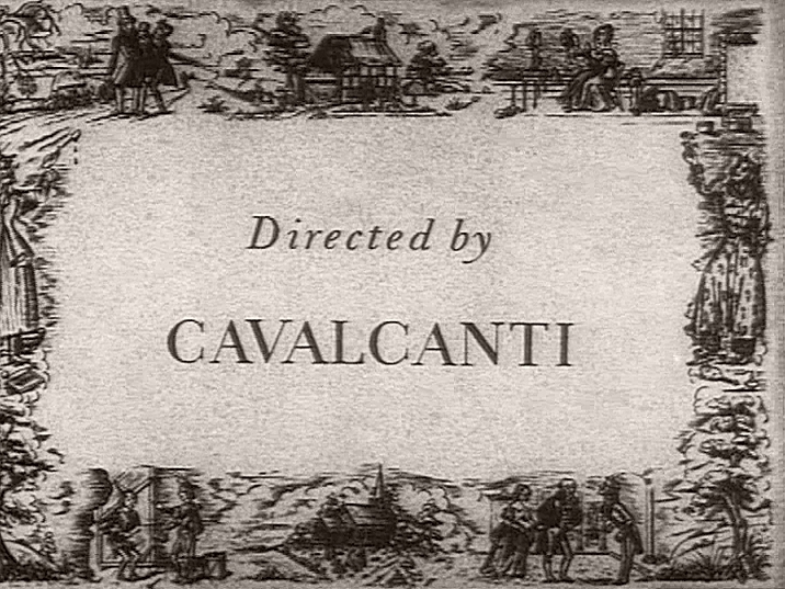 Main title from Nicholas Nickleby (1947) (10).  Directed by Cavalcanti