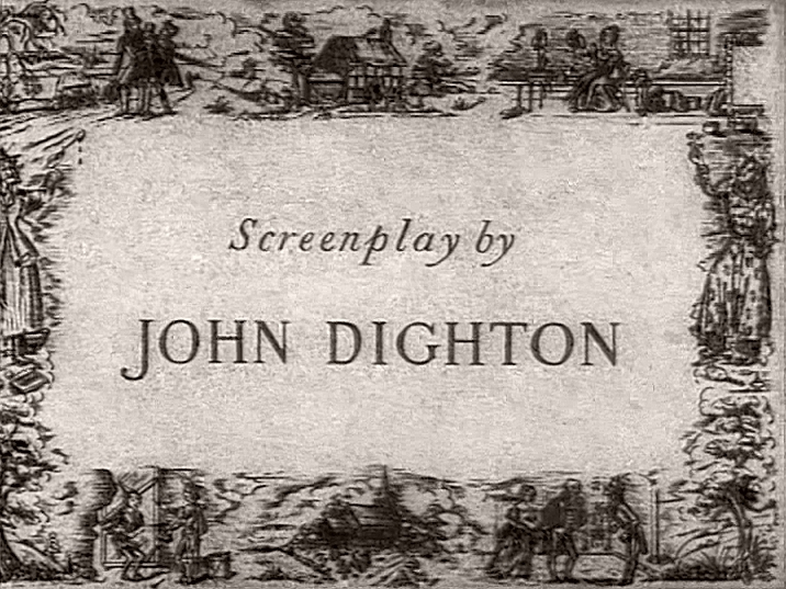 Main title from Nicholas Nickleby (1947) (5).  Screenplay by John Dighton
