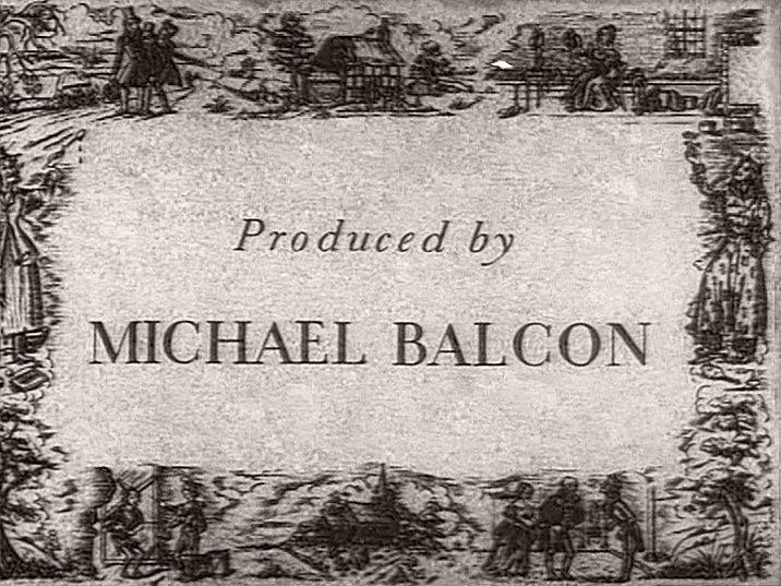 Main title from Nicholas Nickleby (1947) (9).  Produced by Michael Balcon