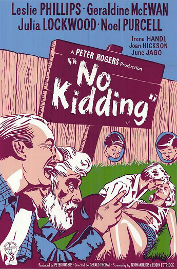DVD cover of No Kidding (1960) (1)