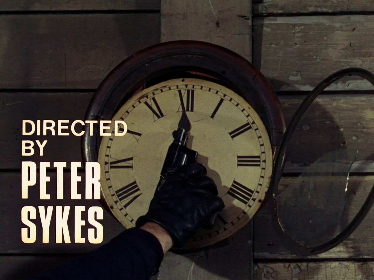 Main title from the 1968 'Noon-Doomsday' episode of The Avengers (1961-69) (3). Directed by Peter Sykes
