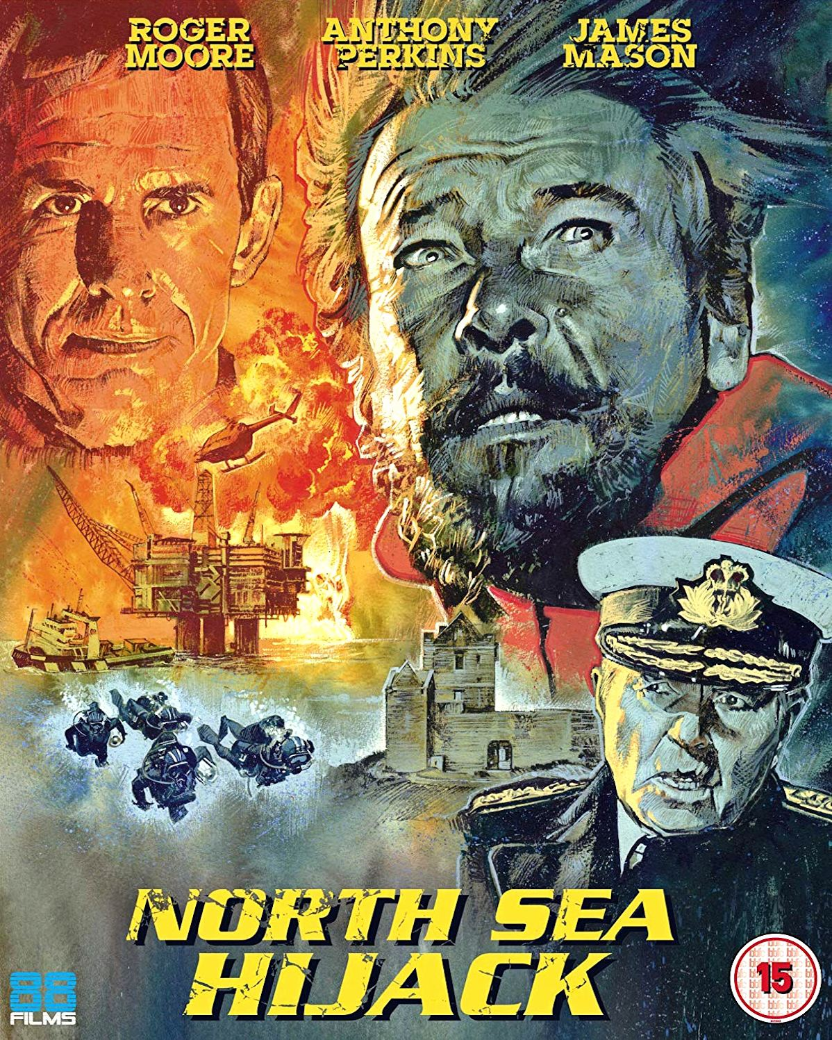 North Sea Hijack Blu-ray from 88 Films (2019)