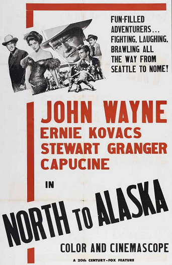 North To Alaska 1960 Film