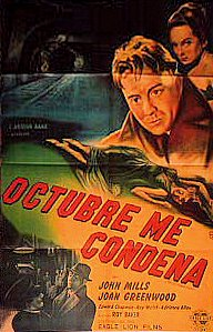 Argentine poster for The October Man (1947) (1)
