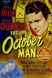 Australian poster for The October Man (1947) (1)
