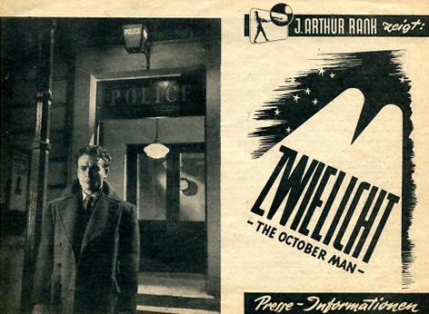 German pressbook for The October Man (1947) (1)