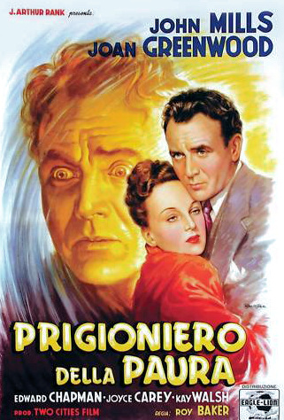 Italian poster for The October Man (1947) (2)