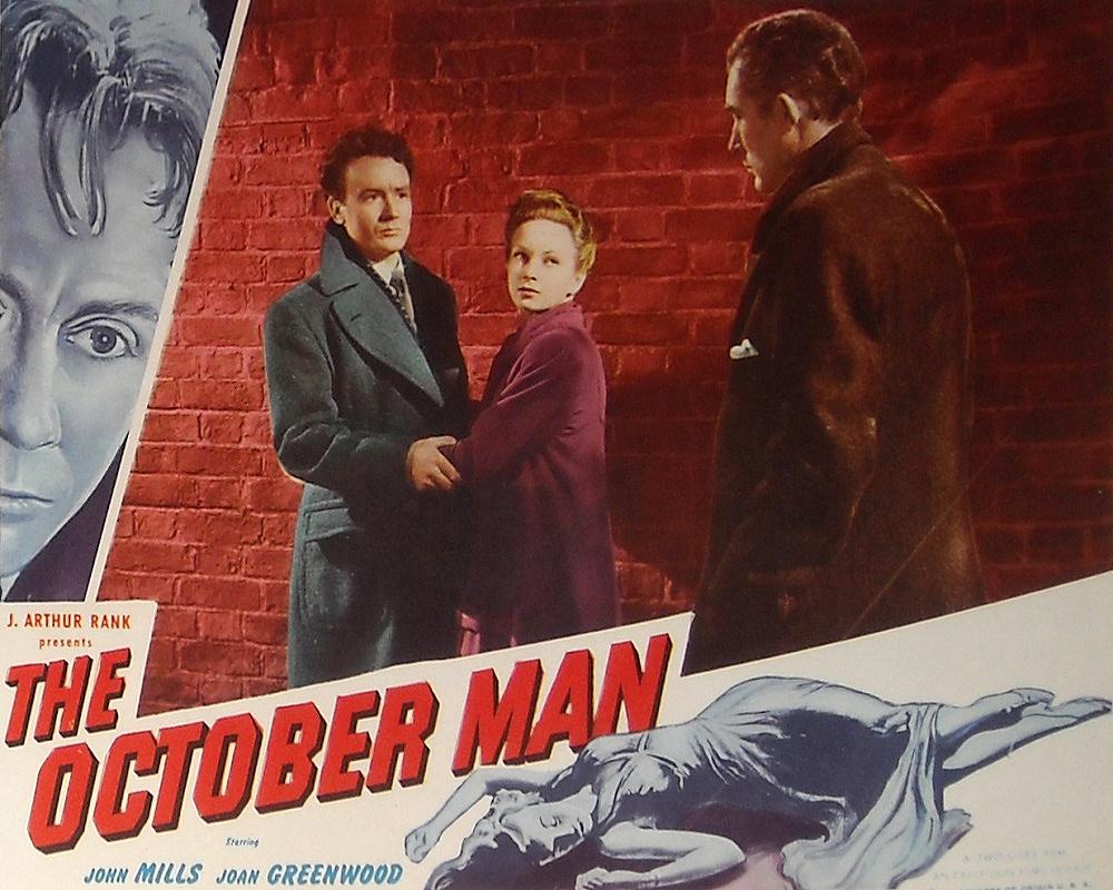 Lobby card from The October Man (1947) (6)